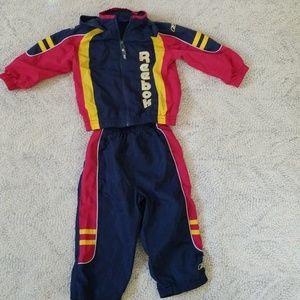 2t Wind suit. Reebok Pants & Jacket